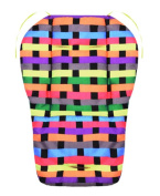 Cool Thicken Baby Strollers Mat Stroller Seat Liners - Colourful