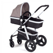 Baby Vivo Stroller and Buggy 2in1 combination - Brown