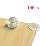 Haobase 16-Pcs Premium Clear Corner Guards. Keep Safety of Children, Protecting Against Wounds Around The House