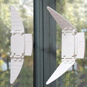 Efbock Infant/child Safety & Baby Proofing,safe/secure/sliding Window/door/closet Lock 2pair