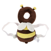 Baby Head Protection Pad Toddler Headrest Pillow Baby Neck Cute Wings Nursing Drop Resistance Cushion - Bee