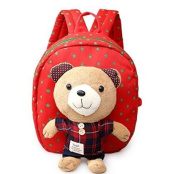 Panlom® Baby Toddler Cartoon Bear Baby Walking Safety Harness Leash Backpack with Reins Strap for Toddler Child Bag