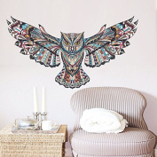 Owl Branch Removable Vinyl Wall Sticker Decal Mural