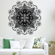 Mandala Wall Vinyl Decal Decor Boho Bohemian Decals Stickers Home Yoga Studio Bedroom Moroccan Pattern Decal