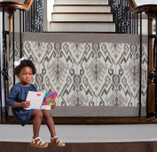 The Stair Barrier - Bannister-to-Bannister Baby/Pet Gate - Wide - Aztec