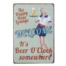 20x30cm Vintage Metal Tin Wall Sign Plaque Poster for Cafe Bar Pub Beer #7