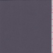 Dark Lavender Grey Polyester Crepe, Fabric Sold By the Yard