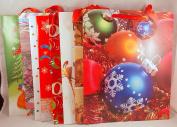 Christmas Gift Bag Assosrtment 8 Large Bags 33cm x 25cm x 14cm