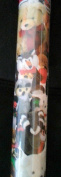 Bear Plush Animals Wrapping Wrap Paper Roll Party Gift Decoration 3.7sqm 1 Roll