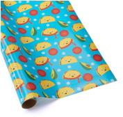 TACOS, TACOS, TACOS! ~Gift Wrap Paper ~ 1 Roll