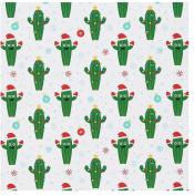 Fun Friendly Cactus ~ Gift Wrap ~ 1 ROLL