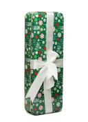 Holiday Gift Tin Box w/Ribbon