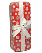 Holiday Gift Tin w/Ribbon