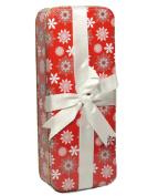 Holiday Gift Tin w/Ribbon