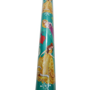 Christmas Gift Wrap Princess Rapunzel,Belle, Aurora Holiday Gift Wrap 1 Roll 4 Yards