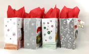 Holiday Friends Gift Bags + Tissue Paper