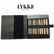 Lykke Driftwood 25cm Straight Gift Set Black Leather Pouch