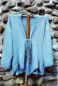 Oat Couture Knitting Pattern #GU418 Heavenly Jacket for Women - Easy Knit