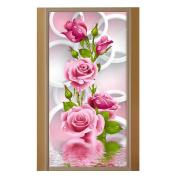 WinnerEco 5D Diamond DIY Painting Embroidery Paint Cross Stitch Craft Home Decor Rose Flower