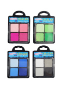 4-Pack Set 16 Quattro-Shades Acid-Free Blending Chalks
