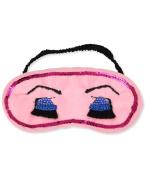 Betsey Johnson Girls Pink Girlie Sleep Eye Mask