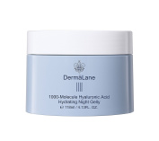 Naruko Dermalane 1000-Molecule Hyaluronic Acid Hydrating Sleeping Night Gelly, 4.13 Fluid Ounce