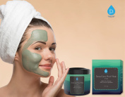 Pursonic Dead Sea Mud Mask For Face, Acne, Oily Skin & Blackheads, 100% Natural For Younger Looking Skin 240ml