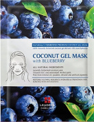 [LEADERS] SUPERFOOD Mask / COCONUT GEL MASK With Blueberry / 100% Naturally fermented coconut gel / Delivers 10X more hydration / 10 Sheet Masks