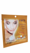 6 Mask sheets of Facy 4 Elements Gold Pearl Silk Collagen White Bright Gold Tissue Mask