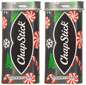 ChapStick Limited Edition Candy Cane Holiday Tin