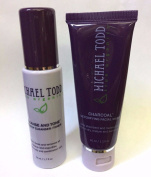 Set Michael Todd Cleanse and Tone & Charcoal Detoxifying Facial Mask Skin Piel