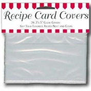 Cookbook People Labeleze Recipe Card Protective Covers 3 x 5