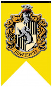 Harry Potter- Hufflepuff Crest Banner Fabric Poster 80cm x 130cm