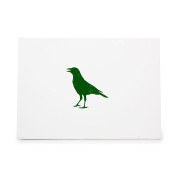 Crow Bird Birdy Flight Fly Style 8998, Rubber Stamp Shape great for Scrapbooking, Crafts, Card Making, Ink Stamping Crafts