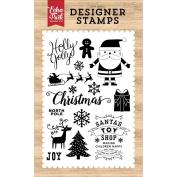 Echo Park I Love Christmas Holly Jolly Stamp Designer Stamp Set