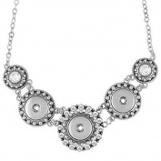 Ginger Snaps 3 Snap Statement Necklace