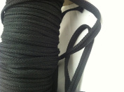 Black Twisted Cordedge Trim for Clothing Pillows, Lamps, Draperies Pi-129