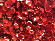 Sequins 8mm 800/Pkg Red