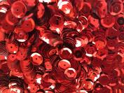 Sequins 8mm 800/Pkg Red