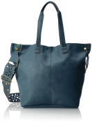 T-Shirt & Jeans Tote with Laser Cut Strap