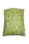 Itzy Ritzy Travel Happens Sealed Wet Bag, Avocado Damask