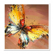 The new diamond butterfly painting triptych painting the living room full of diamond stitch decorative painting abstract Restaurant,a-4646