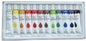 12 PC OIL Paints Set Professional Artist Painting Pigment 12ml Tubes