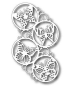 Tutti Designs Swirly Butterfly Circles Cutting Die TUTTI-186