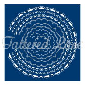 Tattered Lace Card Shapes Circles - 9 Die Set - Make Your Own Shaped Card Blanks