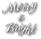 Poppy Die ~ Merry & Bright Brushed