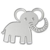 SCASTOE Elephant Metal Cutting Dies Stencil Scrapbook Paper Card Embossing DIY Craft