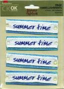 Summertime Keepsakes CKOK Archival Page Embellishments