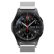 AutumnFall Milanese Magnetic Loop Stainless Steel Band for for Samsung Galaxy Gear S3 Frontier