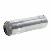 Foreveryang Mini LED UV Gel Lamp Light Nail Dryer Flashlight Torch For Nail Polish Manicure - Silver